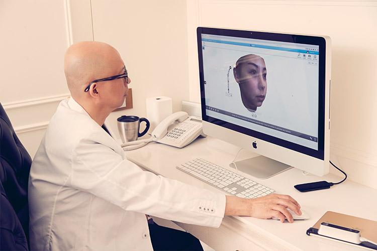 3D實境術後影像模擬